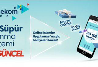 Türk Telekom Sil Süpür Haftada 2 Kere Kullanma!