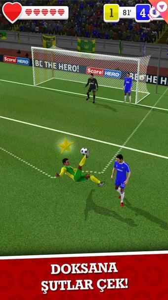 android futbol oyunu