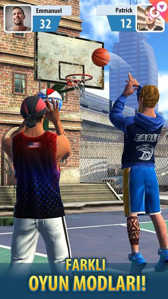 android basketbol oyunu