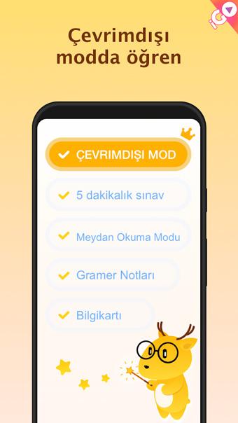 android yabancı dil uygulaması