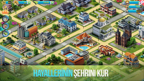 android şehir oyunu