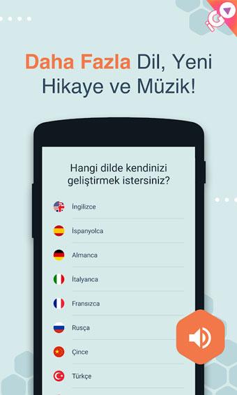 android dil uygulamaları