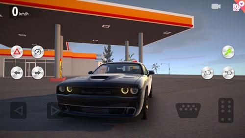 gerçekçi araba simülasyonu